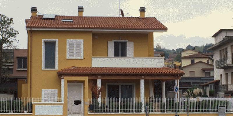 Materiali pareti esterne great per le pareti with materiali pareti esterne elegant bianco e - Dipingere casa costi ...